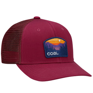 Coal Mens The Hauler Low Cap - Wine