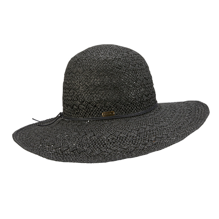 Coal Womens The Piper - Black-Coal Headwear-Seaside Surf Shop