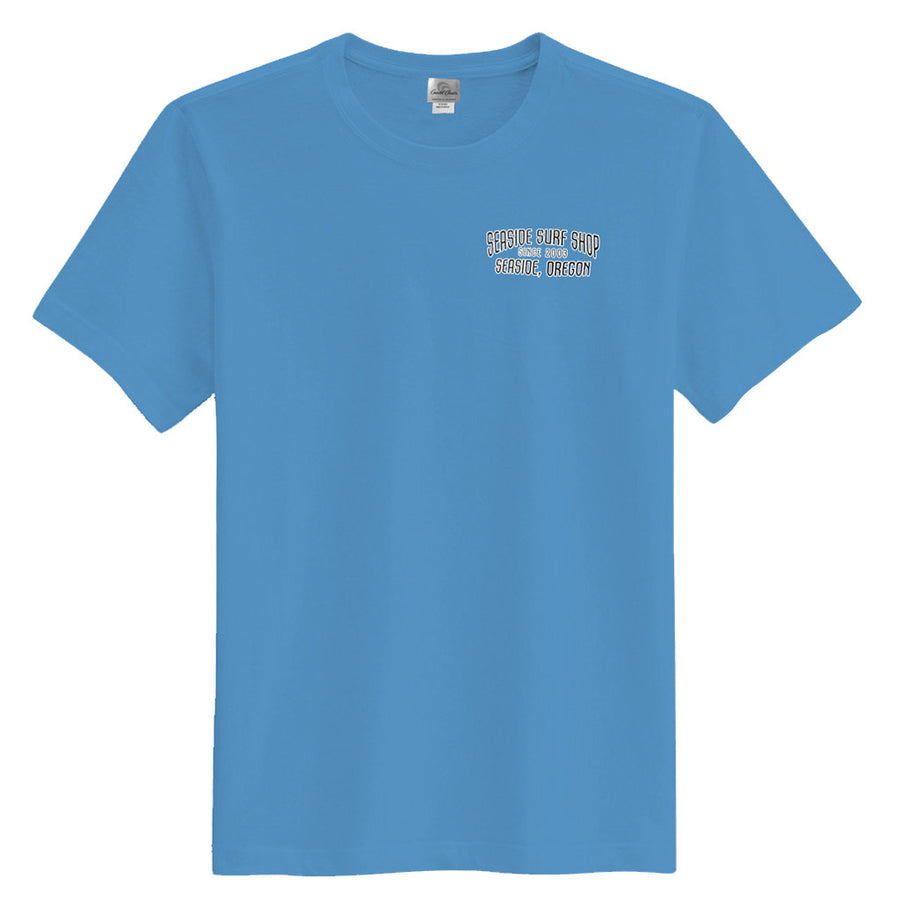 '-Seaside Surf Apparel-Seaside Surf Shop Mens Peak Tee - Slate-Seaside Surf Shop-Seaside Surf Shop