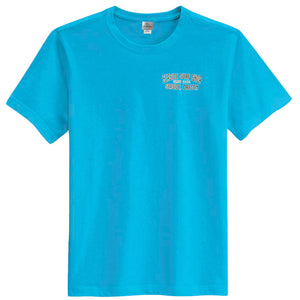 Seaside Surf Shop Mens Peak Tee - Tropical Blue-Seaside Surf Shop-Seaside Surf Shop