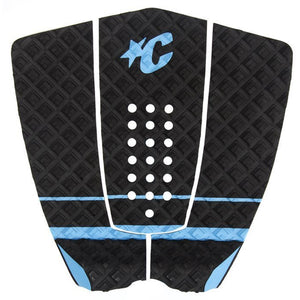 Creatures Ethan Ewing Traction Pad - Black Cyan-Creatures of Leisure-Seaside Surf Shop