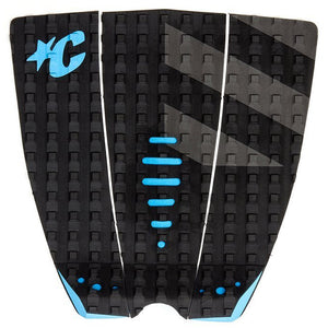 Creatures Mick Eugene Fanning Traction Pad - Black Grey Cyan-Creatures of Leisure-Seaside Surf Shop