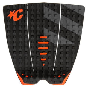 Creatures Mick Eugene Fanning Traction Pad - Black Orange Grey