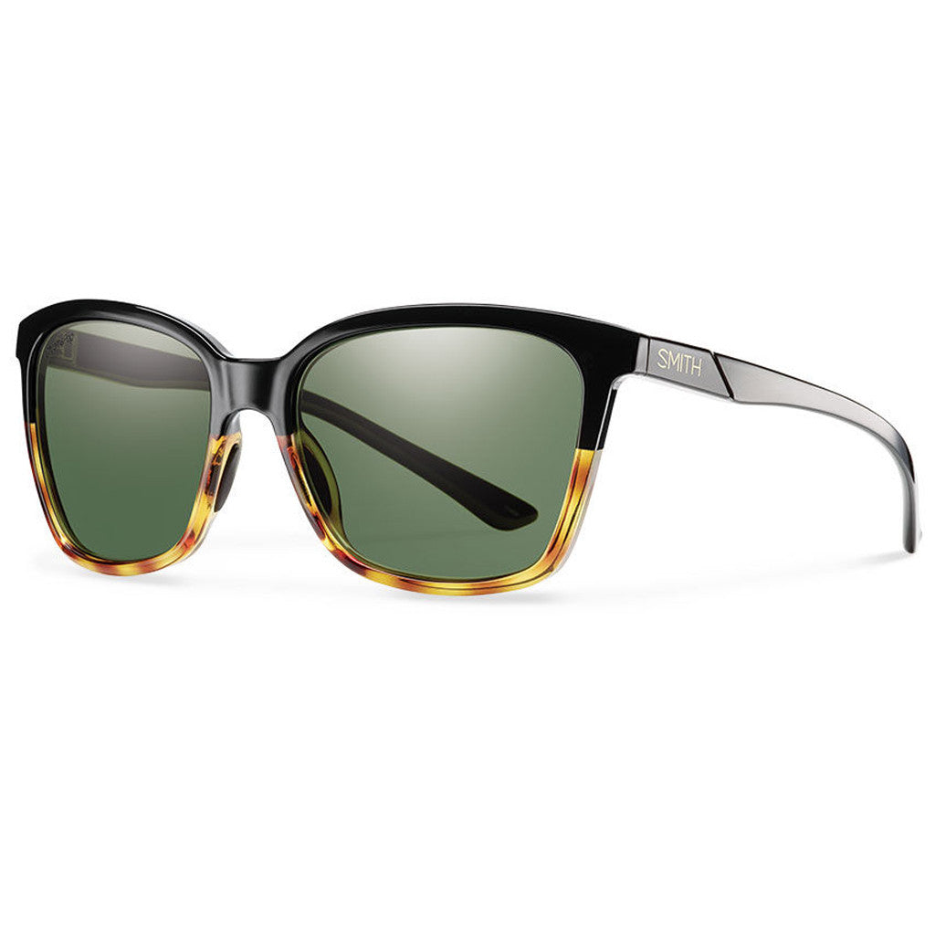 -Sunglasses-Smith Optics Collette - Black Fade Tortoise/Polarized Gray Green-Smith Optics-Seaside Surf Shop