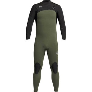 Xcel Comp Mens 4/3mm Wetsuit - Dark Forest Black