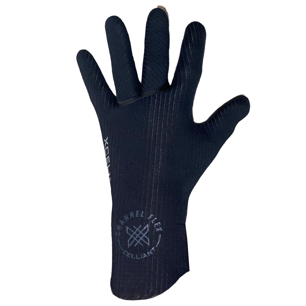 Xcel Comp X 4mm 5-Finger Glove - Black - Seaside Surf Shop