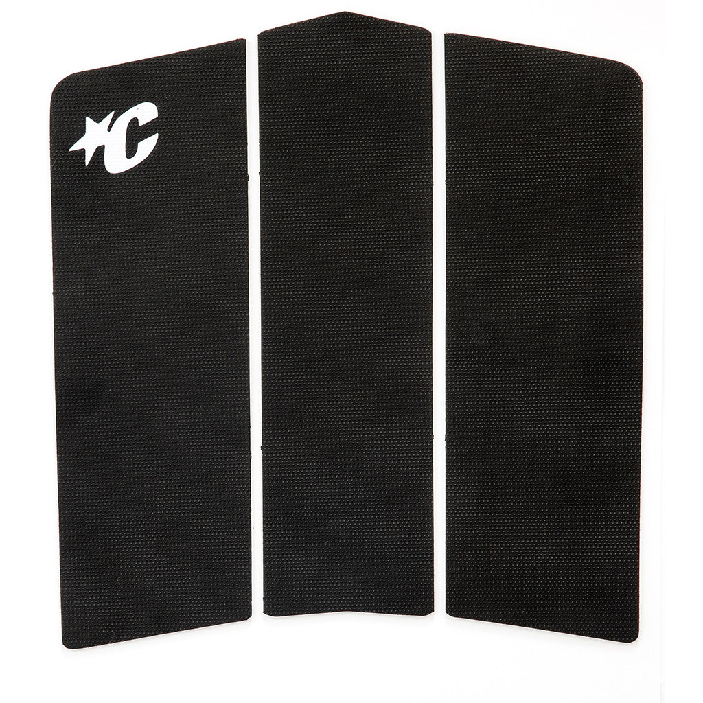 Creatures Front Deck IV Traction Pad - Black - Seaside Surf Shop
