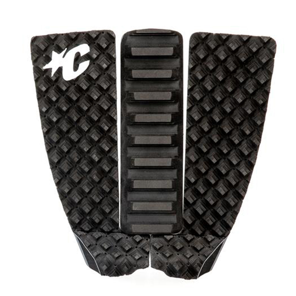 Creatures Skim Arch 2 Piece Traction Pad - Black/Grey - Seaside Surf Shop