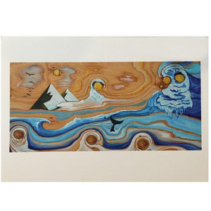 Lori LaBissoniere Prints - 4x6-Drift Awake-Seaside Surf Shop