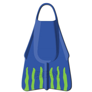 DaFin Brian Keaulana Makai Surf & Swim Fins - Blue-DaFiN-Seaside Surf Shop