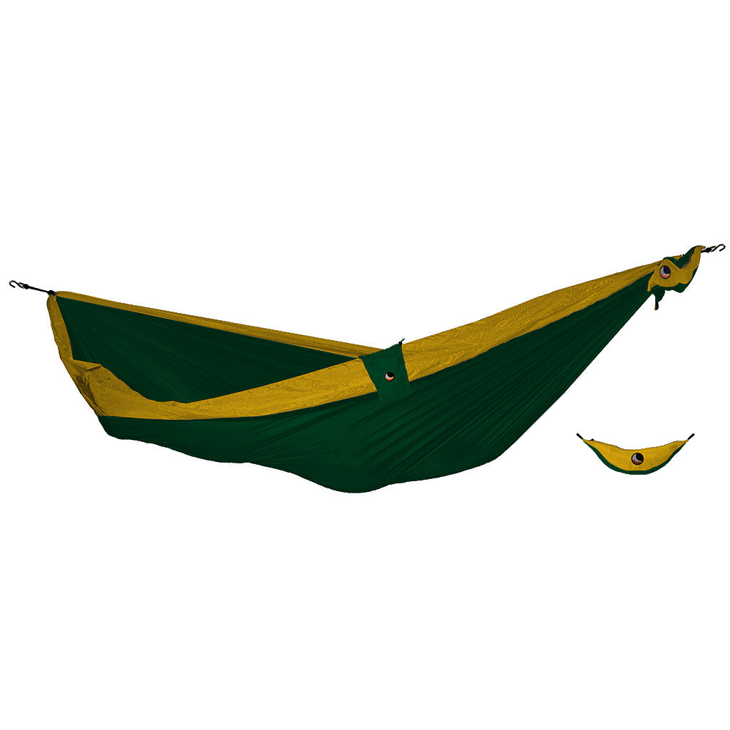 Ticket to the Moon Ultimate Hammock - Dark Green/Mustard