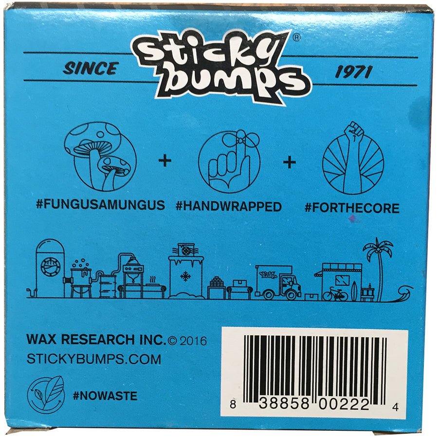 Sticky-Bumps Day Glo Wax - Cool Cold-Blocksurf-Seaside Surf Shop