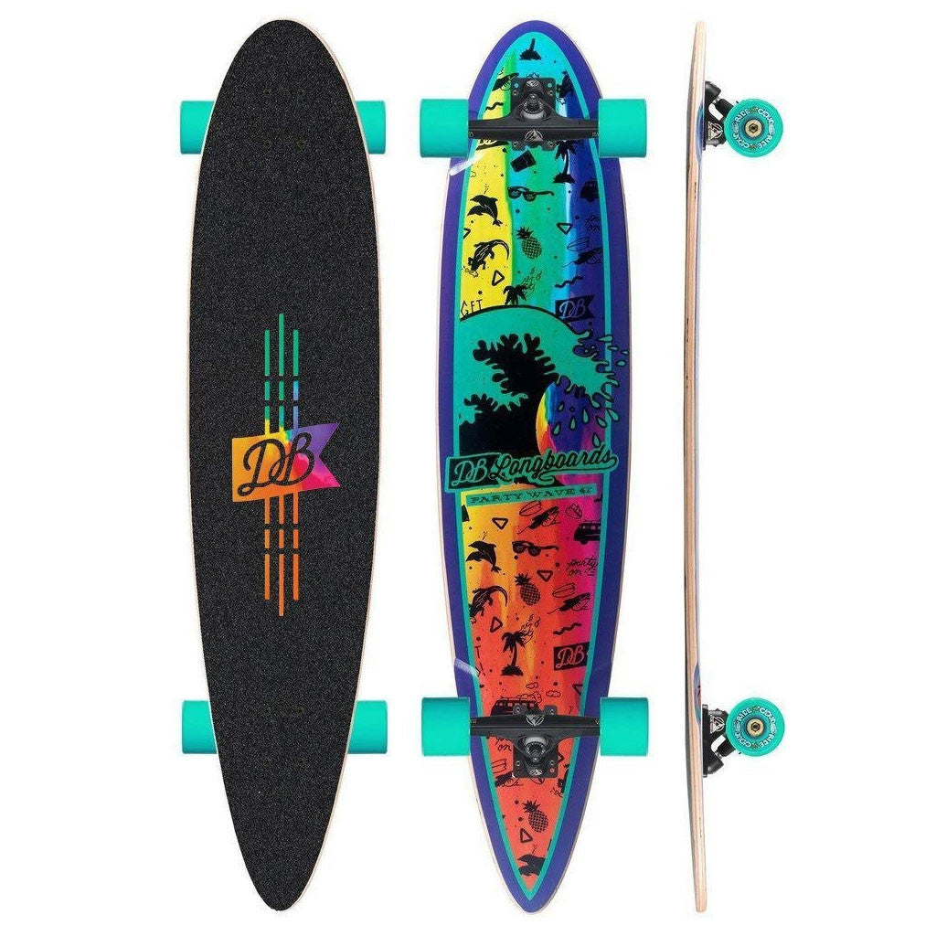"DB Longboards Party Wave 42"" - Complete"