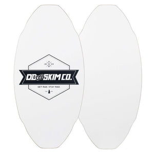 -Skimboards-DB Skim Plank Proto Medium - White-DB Skim Co-Seaside Surf Shop