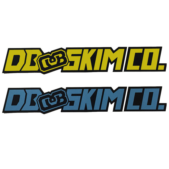 DB Skimboard Stickers 2x11 - Seaside Surf Shop