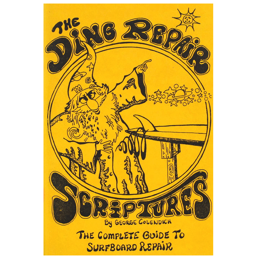 Ding Repair Scriptures, Books, Blocksurf, Books, The ONLY guide you need for ding repair. Carefully explained and detailed instructions for all kinds of fiberglass repair. Fins, Rails, Decks - where ever the damage is this book will tell you how to fix it.