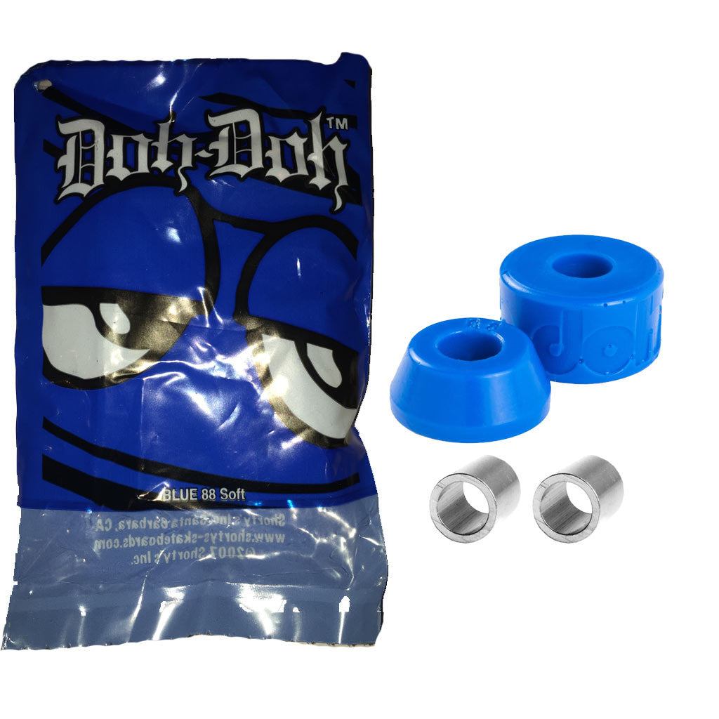 -Skate-Shortys Doh Doh Quad Pack - Blue 88a-Shortys-Seaside Surf Shop