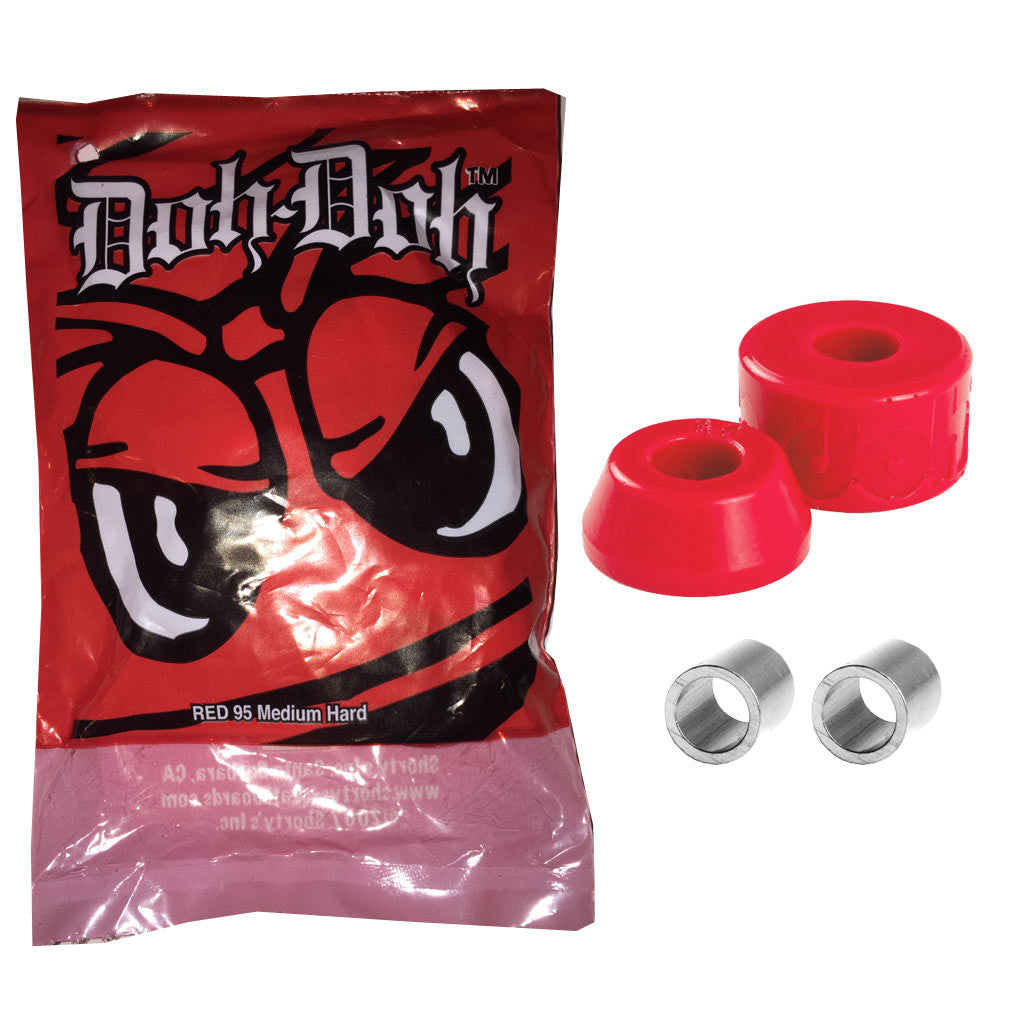 Shortys Doh Doh Quad Pack - Red 95a - Seaside Surf Shop