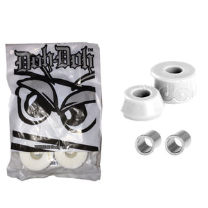 Shortys Doh Doh Quad Pack - White 98a-Shortys-Seaside Surf Shop