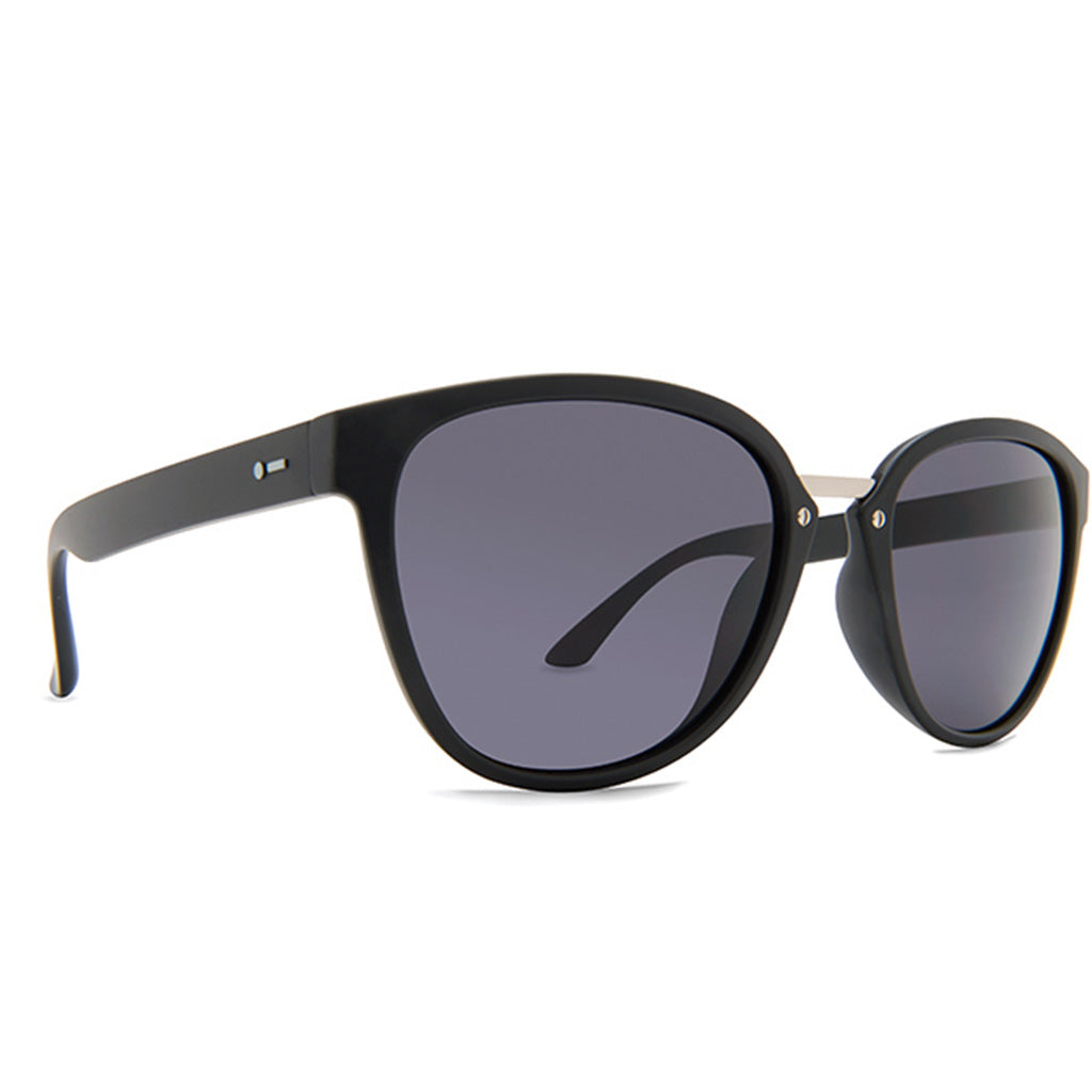 Dot Dash Sunglesses - Summerland - Black Satin/Grey - Seaside Surf Shop