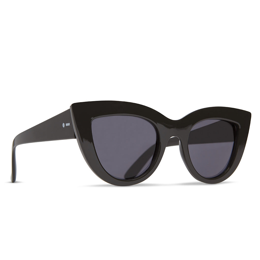 Dot Dash Sunglesses - Starling - Black Gloss/Grey - Seaside Surf Shop