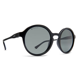 Dot Dash Sunglesses - Hullabaloo - Black Gloss/Grey Polarized