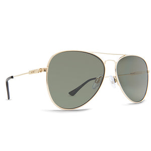 Dot Dash Sunglesses - Aerogizmo - Gold/Vintage Grey