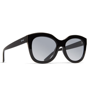 Dot Dash Sunglesses - Mysteria - - Black Gloss Rose Gold/Rose Silver Gradient