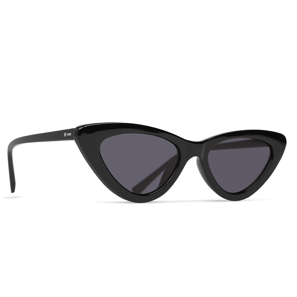 Dot Dash Sunglesses - Fabulist - Black Gloss/Grey - Seaside Surf Shop