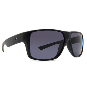 Dot Dash Sunglesses - Turbo - Black Gloss/Grey Polarized