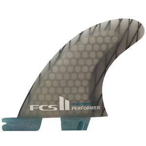 FCS II Performer PC Carbon Medium Quad Rear Retail Fins-FCS-Seaside Surf Shop