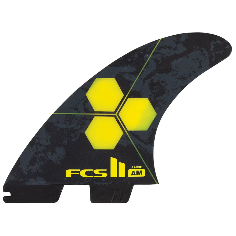 FCS II AM PC Large Yellow Tri Retail Fins