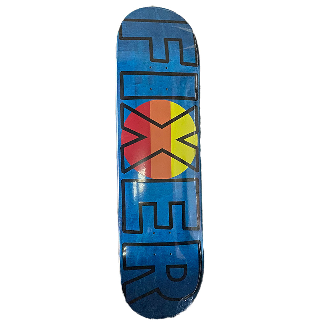 "Fixer Skateboards Private Reserve Bold Skate Deck - 8.87"" - Seaside Surf Shop"