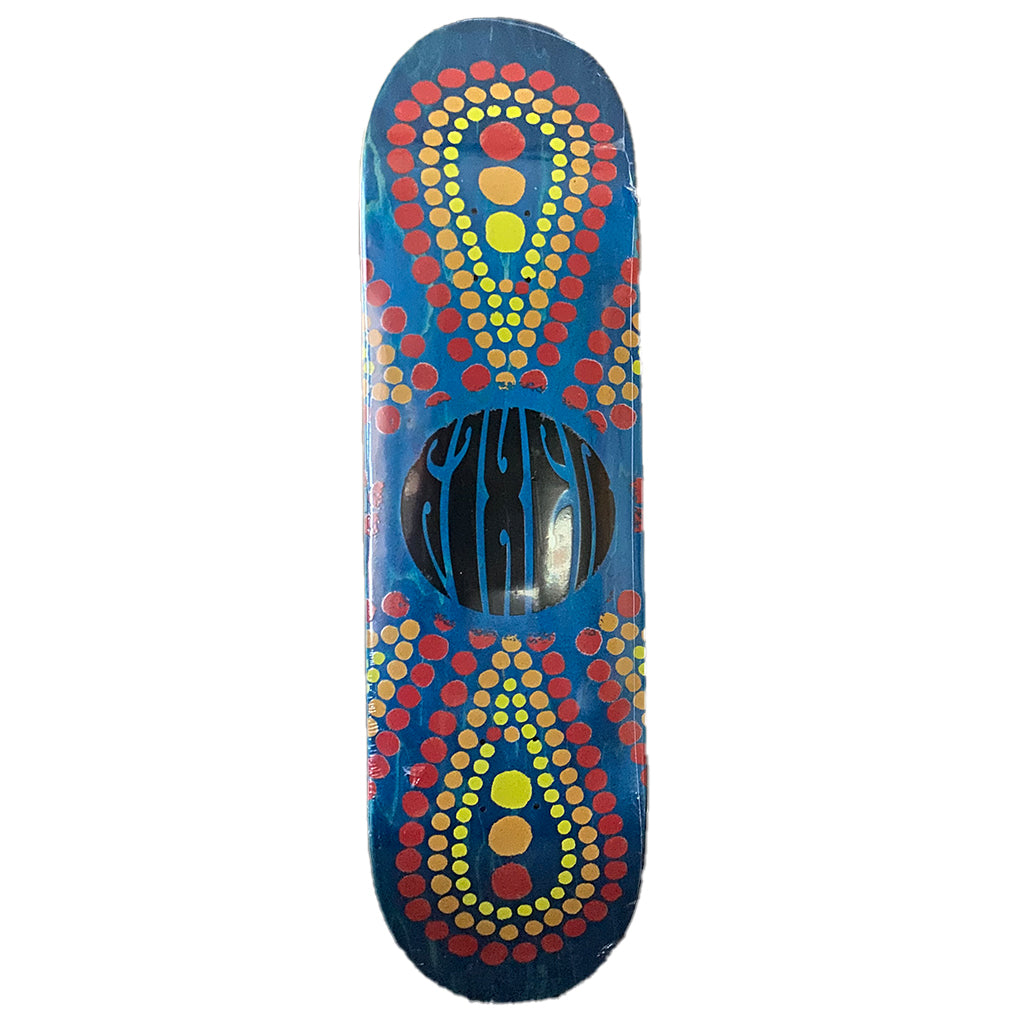 "Fixer Skateboards Private Reserve Clear Infinity Skate Deck - 8.6"" - Seaside Surf Shop"