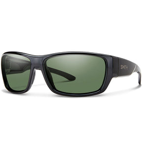 -Sunglasses-Smith Optics Forge - Black/Polarized Gray Green-Smith Optics-Seaside Surf Shop