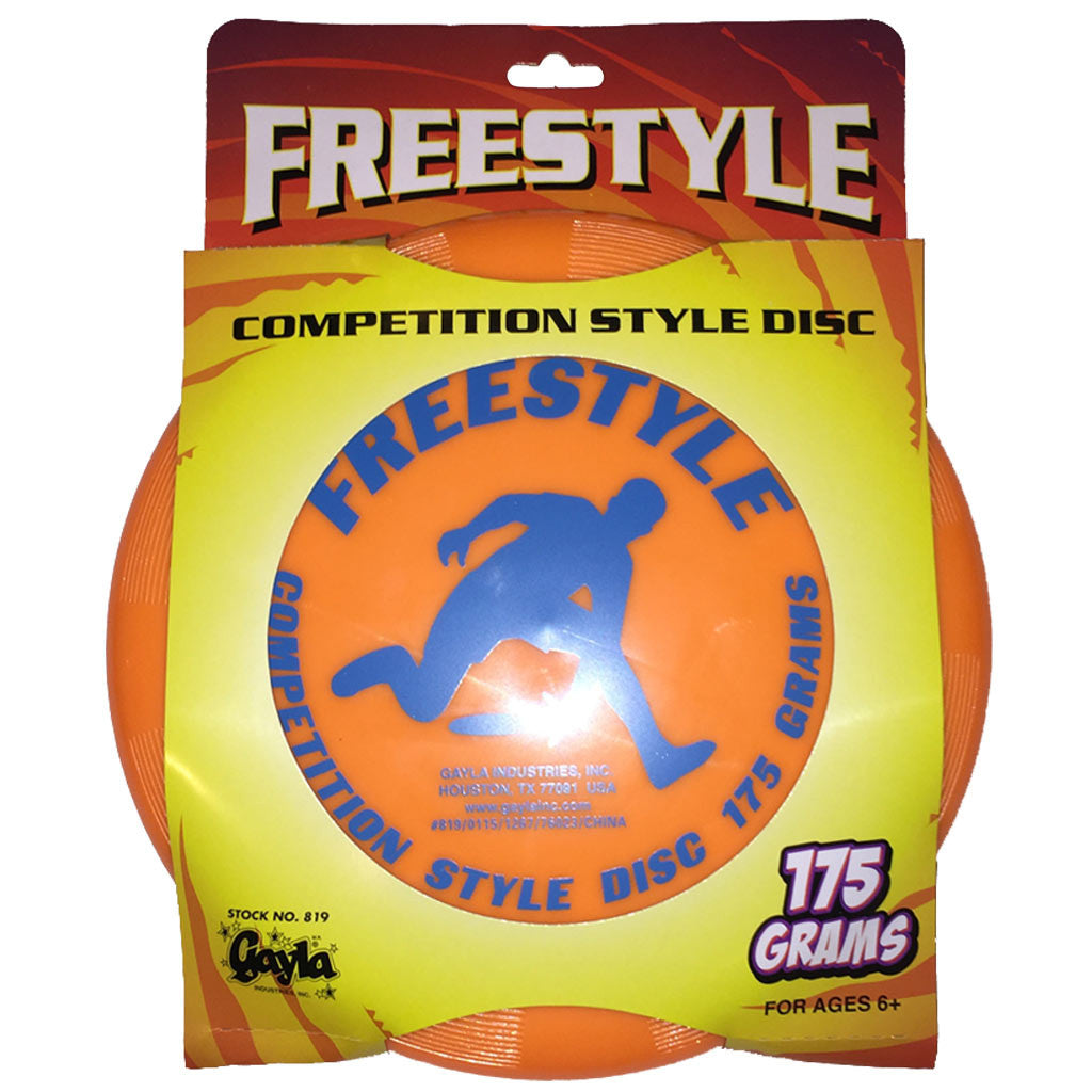 Gayla Freestylye Competition Style Disc -Orange