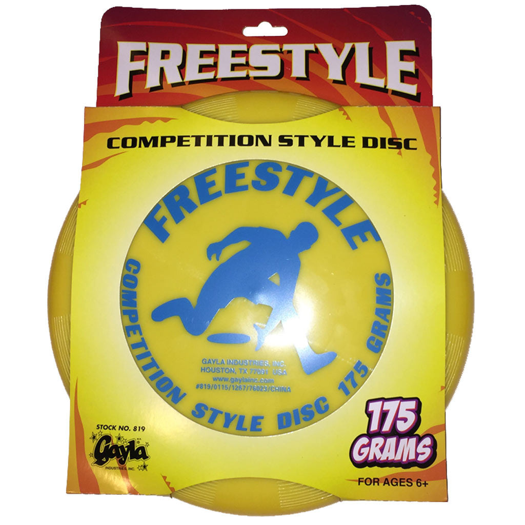 Gayla Freestylye Competition Style Disc -Yellow