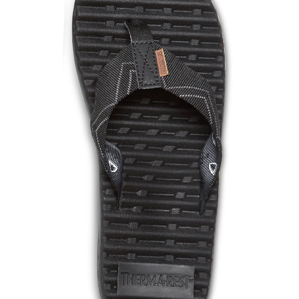 Freewaters Mens Treeline Sandals - Black - Seaside Surf Shop