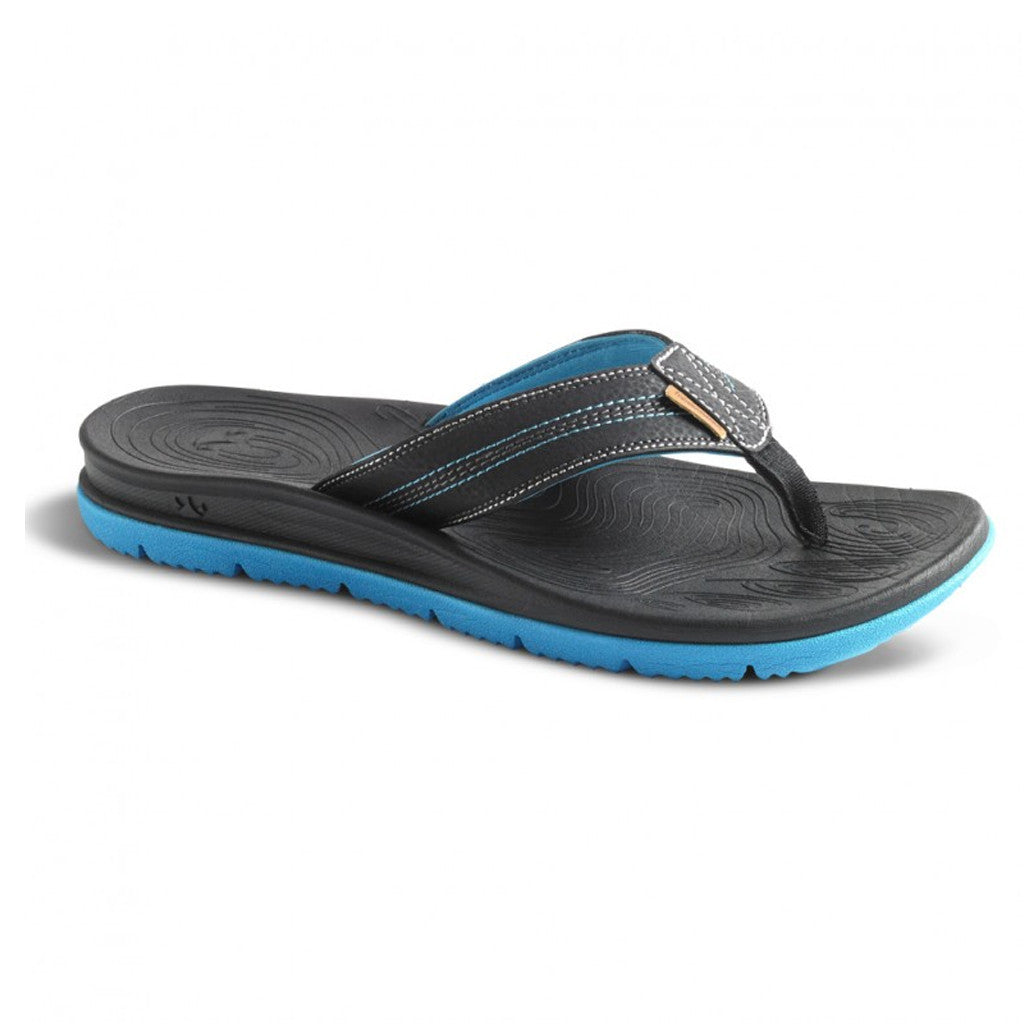 **Freewaters Tall Boy Sandals Men's Size 9 Black/Blue