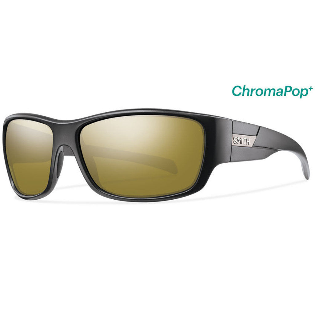 Smith Optics Frontman - Matte Black/Chromapop/Polarized/Bronze