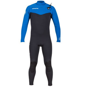 Hyperflex Vyrl Youth 4/3mm Jr Frontzip Fullsuit - Black/Blue