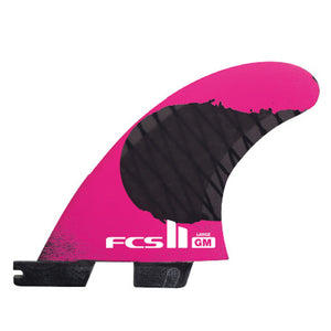 FCS II Gabriel Medina PC Carbon Large Tri Set Fins