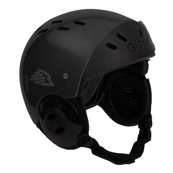 -Surf Accessories-Gath Surf Convertible Helmet - Black-Gath-Seaside Surf Shop