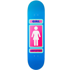 "Girl Capaldi 93 Til WR35 8.0"" Deck - Blue"