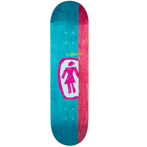 "Girl Carrol Sketchy OG 8.375"" Deck - Mix-Girl-Seaside Surf Shop"