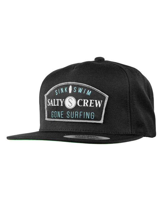 -Apparel Accessories-Salty Crew Mens Gone Surfing Hat - Black-Salty Crew-Seaside Surf Shop