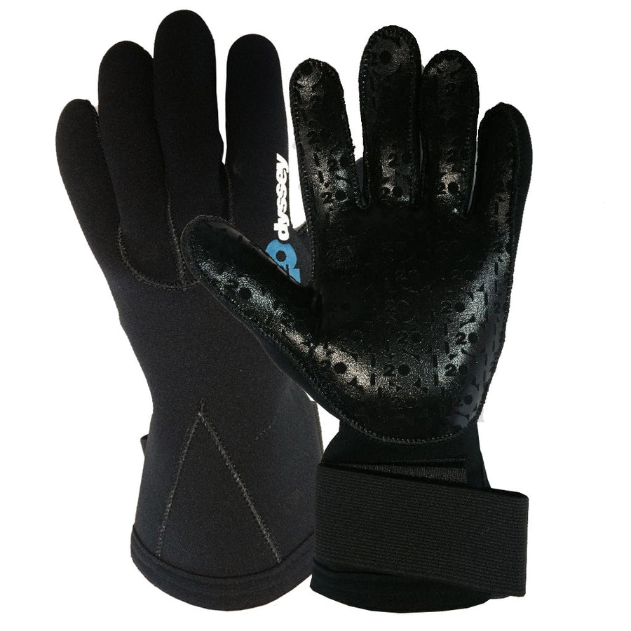 H2Odyssey Therma Grip 3mm Gloves, Wetsuit Accessories, H20 Oddysey, 3mm Gloves, 3mm Wetsuit Gloves.