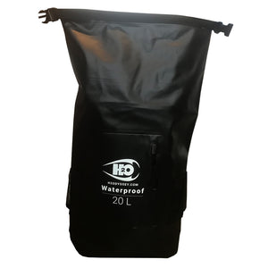 H2Odyssey Dry Bag Wetsuit Backpack - Black, Backpacks & Bags, H20 Oddysey, Roll Top Packs, Full on roll top dry bag with enough room to stuff your wetsuit, boots, gloves, lunch, and a six pack for your surf sesh. Made of durable pvc with a roll top that makes it super easy to keep water in or out. Fully Dry Bag Sizes: 20L Shoulder strap included Waist Buckle Hip Buckle .