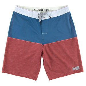 Salty Crew Mens Halyard Boardshort - Red-Salty Crew-Seaside Surf Shop