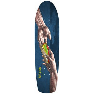 "Powell Peralta Funshape Hands Skateboard  8.4"" Deck - Navy"